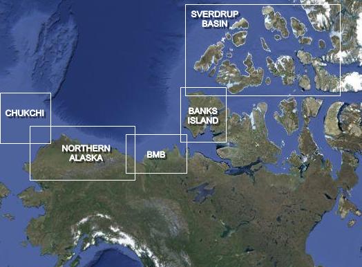 ARCTIC LOCATION MAP 2
