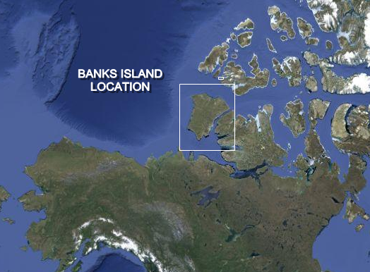 BANKS ISLAND LOCATION